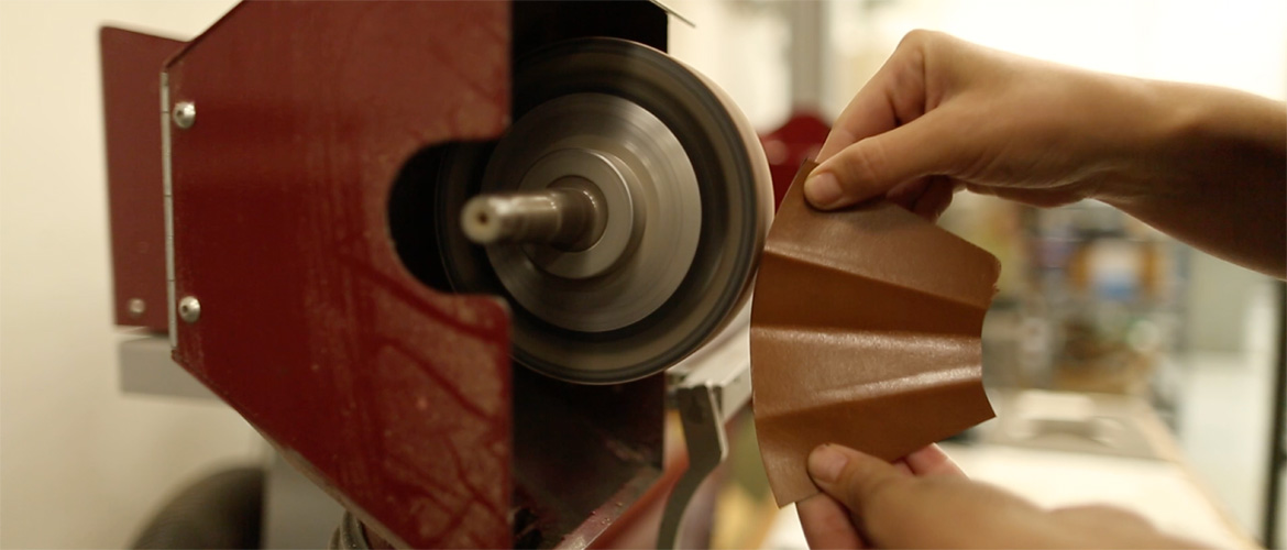 leather goods production